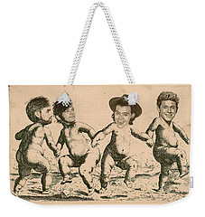 Celebrity Etchings - One Direction   Weekender Tote Bag