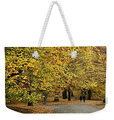 Central Park Gold Weekender Tote Bag