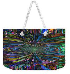 Central Swirl Weekender Tote Bag