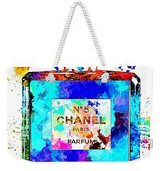 Chanel No. 5 Grunge Weekender Tote Bag