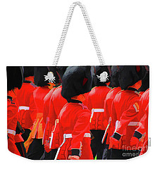 Changing Of The Guards  Weekender Tote Bag by Roger Lighterness