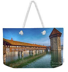 Chapel Bridge Weekender Tote Bag