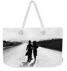 Weekender Tote Bag featuring the photograph Modern Times 1936 by Granger