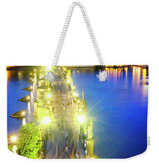 Weekender Tote Bag featuring the photograph Charles Bridge by Fabrizio Troiani