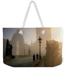 Charles Bridge, Prague, Czech Republic Weekender Tote Bag