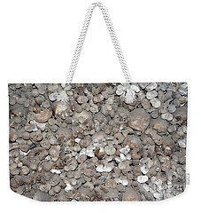 Weekender Tote Bag featuring the photograph Charnel House by Michal Boubin