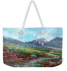 Chasm Lake Trail Weekender Tote Bag