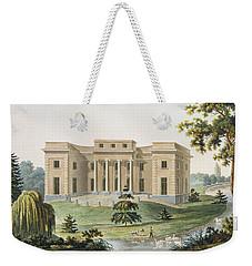 Chateau At Vinderhaute Weekender Tote Bag by Pierre Jacques Goetghebuer