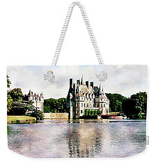 Weekender Tote Bag featuring the photograph Chateau De La Bretesche, Missillac, France by Joseph Hendrix