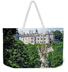 Weekender Tote Bag featuring the photograph Chateau De Walzin - Belgium by Joseph Hendrix