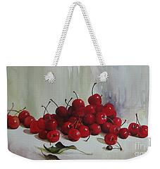 Cherries Weekender Tote Bag