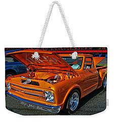 Chevy Stepside Weekender Tote Bag by Victor Montgomery