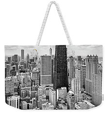 Weekender Tote Bag featuring the photograph Chicago's Gold Coast by Adam Romanowicz