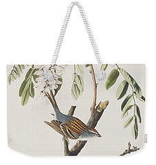 Chipping Sparrow Weekender Tote Bag by John James Audubon