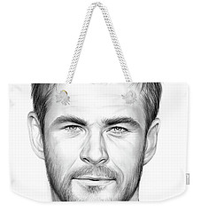 Chris Hemsworth Weekender Tote Bag