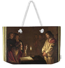 Christ Before The High Priest Weekender Tote Bag