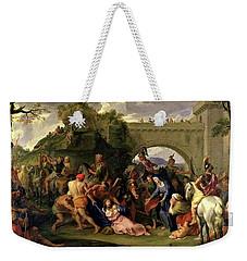 Christ Carrying The Cross Weekender Tote Bag