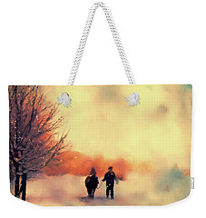 Christmas Day Weekender Tote Bag
