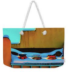 Christmas Morning Taos Weekender Tote Bag