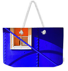 Weekender Tote Bag featuring the photograph Chromatic by Wayne Sherriff