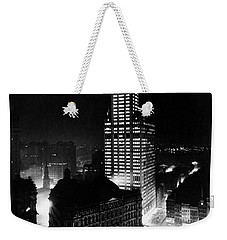 Chrysler Building Weekender Tote Bag by American School