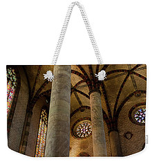 Weekender Tote Bag featuring the photograph Church Of The Jacobins Interior by Elena Elisseeva