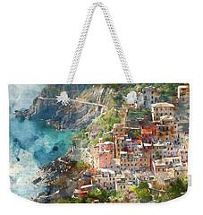 Cinque Terre In Italy Weekender Tote Bag
