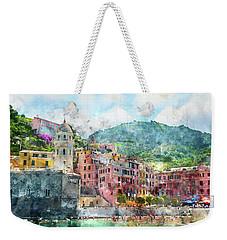 Cinque Terre Italy Weekender Tote Bag