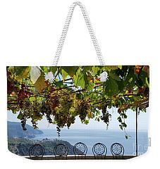 Cinque Terre View  Weekender Tote Bag by Loriannah Hespe
