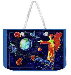 Circle Of Life Weekender Tote Bag
