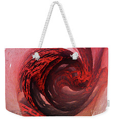 Weekender Tote Bag featuring the digital art Circular Motion by Melissa Messick