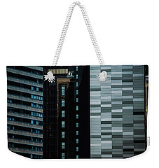City Perspective Weekender Tote Bag by Michael Nowotny
