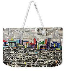 City Scape Weekender Tote Bag