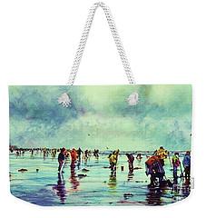 Clamdiggers Beachscape Weekender Tote Bag