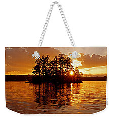 Weekender Tote Bag featuring the photograph Clarity Of Spirit by Lynda Lehmann