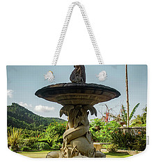 Weekender Tote Bag featuring the photograph Classic Fountain by Carlos Caetano