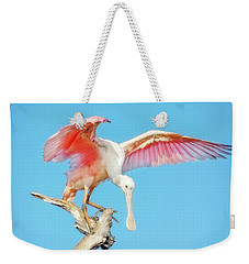 Spoonbill Cleared For Takeoff Weekender Tote Bag