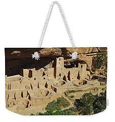 Cliff Palace Mesa Verde Weekender Tote Bag by Debby Pueschel