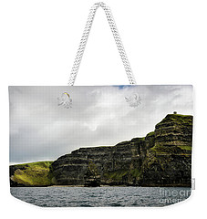 Weekender Tote Bag featuring the photograph Cliffs Of Moher From The Sea by RicardMN Photography
