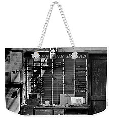 Clocked Out Weekender Tote Bag