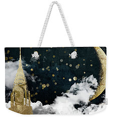 Cloud Cities New York Weekender Tote Bag by Mindy Sommers