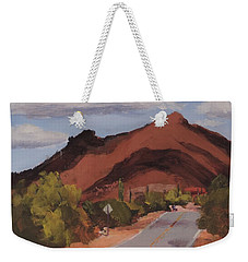 Cloud Shadows On Black Mountain Weekender Tote Bag