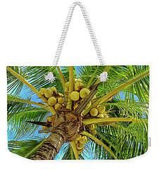 Coconuts In Tree Weekender Tote Bag