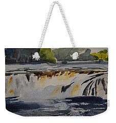 Cohoes Falls Study 2 Weekender Tote Bag