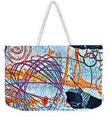 Collage Details Weekender Tote Bag