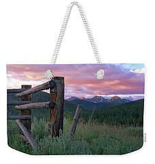 Colorado Glory Weekender Tote Bag