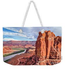 Colorado River And Chicken Corner Trail  Weekender Tote Bag