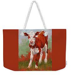 Colorful Calf Weekender Tote Bag