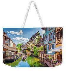 Colorful Colmar Weekender Tote Bag by JR Photography