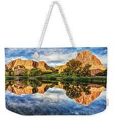 Colorful Colorado Weekender Tote Bag